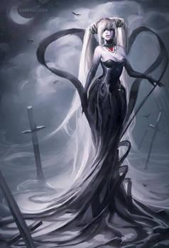 Lady Grey by sakimichan