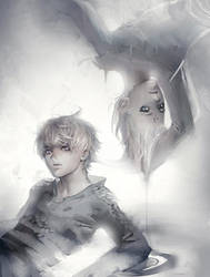 Fade into Grey by sakimichan
