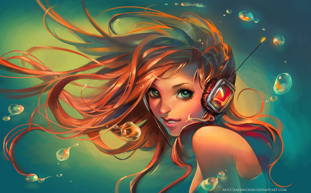 .Game Girl. by sakimichan