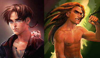 Jim.Tarzan by sakimichan