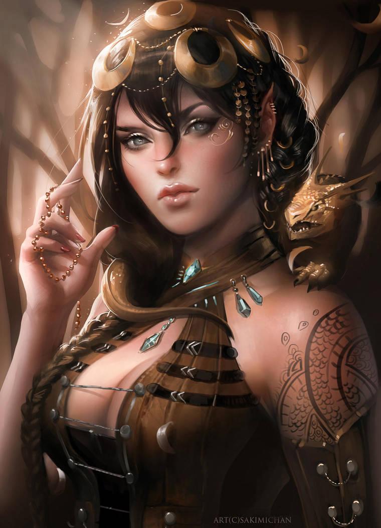 Royal Assassin by sakimichan