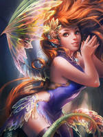 IFX .Fairy. by sakimichan