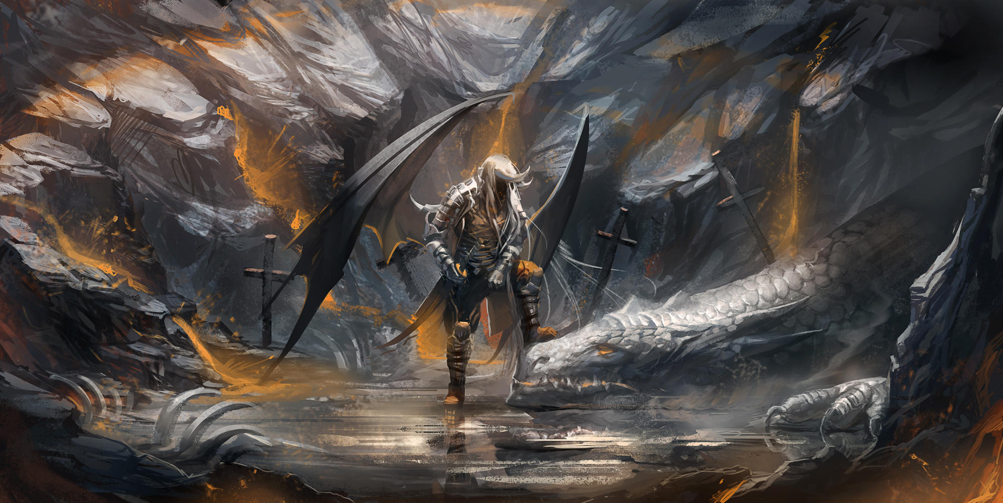 Dragon Tamed by sakimichan