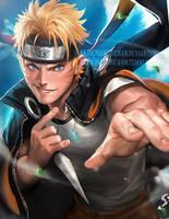 Naruto by sakimichan