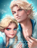 Elsas by sakimichan