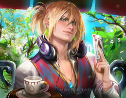 Waiter Howl by sakimichan