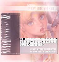 Brushes January Promo by sakimichan
