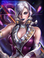 Galactic Officer by sakimichan