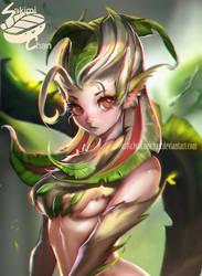 Nature Spirit by sakimichan