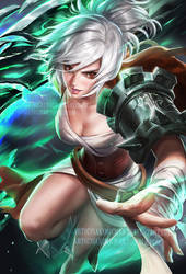 Riven Ult by sakimichan