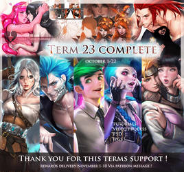 Summary Week 23 .Thanks for the support . by sakimichan
