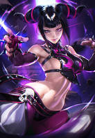 Juri .nsfw optional. by sakimichan