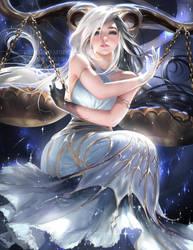 Horoscope series .:Libra:. by sakimichan