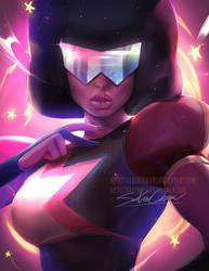 Steven Universe Garnet by sakimichan