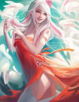 Chinese Zodiac.:Rabbit:. by sakimichan