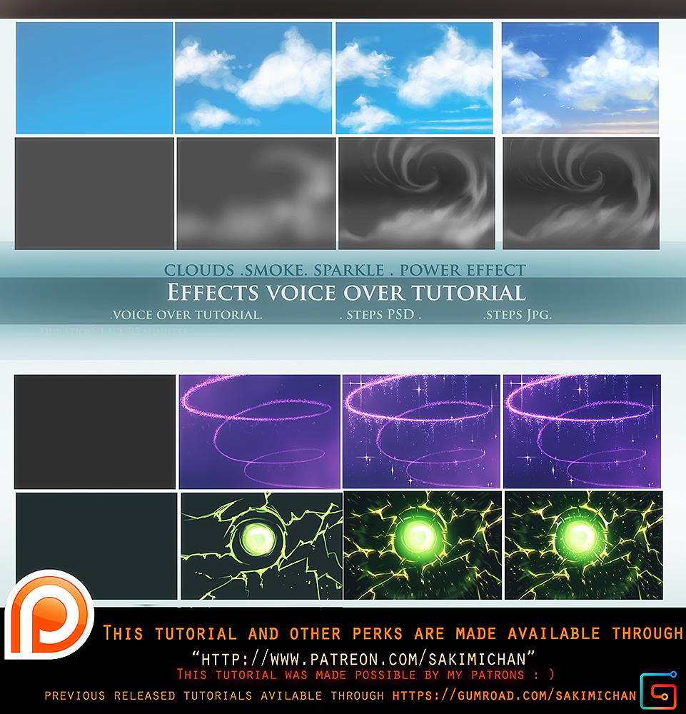 Effects voice over tutorial .promo. by sakimichan