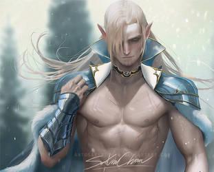 Elf prince .mature tag. by sakimichan