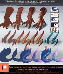 Fantasy Texturen voice over tutorial.promo. by sakimichan