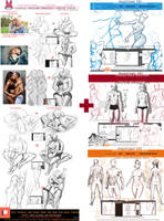 posing+anatomy bonus pack.promo. by sakimichan