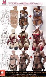 Lingerie Voiceover tutorial .Promo. by sakimichan