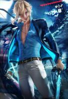 Suit Link by sakimichan