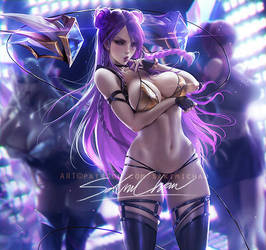 Kd/a Kaisa .nsfw preview. by sakimichan
