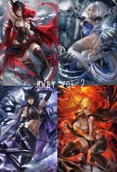 RWBY series 2 by sakimichan