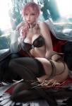 Lightning .lingerie vr. by sakimichan
