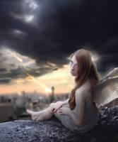 angel of chaos by Lais-Pinheiro