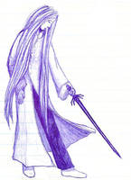 Swordsman by morethan
