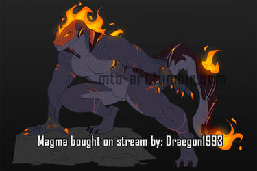 Magma (sold) by Mauw-than-one