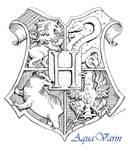 Hogwarts Crest by AquaVarin