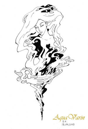 Self-creation ink by AquaVarin