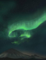 Northern Light : Digital painting 7/??? by AquaVarin