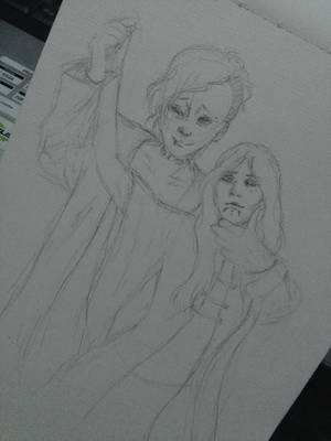 Uta and Aleksey(Request) by jhasthedeathnote