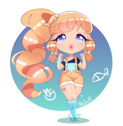 Baby Goldfish by LovelyMerlise