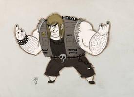 DAC Nico Marlet style by Aru-Metalhead