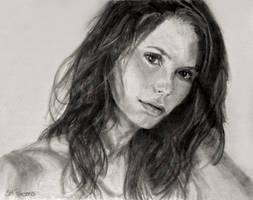 Pencil Drawing: Mischa Barton by shuckaby