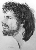 Pencil Drawing: Cat Stevens by shuckaby