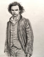 Pencil Drawing: Aidan Turner as Poldark #5 by shuckaby