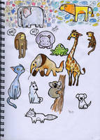Lil Animal Designs by Sandora