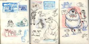 Critter Chorus design devs by Sandora
