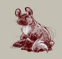 Hyena by Sandora