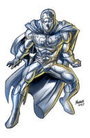 The SILVER SAINT as drawn by Gilbert Monsanto by REZcat