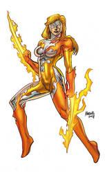 Sunrazor as drawn by Gilbert Monsanto by REZcat