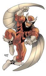 Tiger Hawk as drawn by Gilbert Monsanto by REZcat