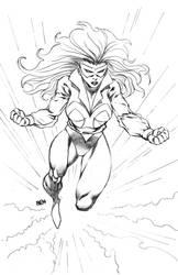 Amberr as drawn by Florentino Cuevas by REZcat