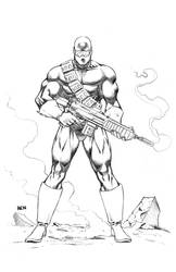 Bandolier as drawn by Florentino Cuevas by REZcat