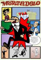 Mortadelo Poster by Neyebur