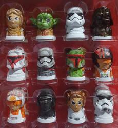 Star Wars Toppers by Neyebur